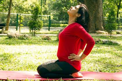 Hatha Yoga Posture