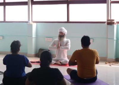 Hatha Yoga Workshop at Yog Gokul in Progress