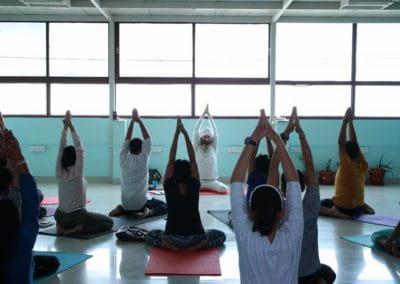 Hatha Yoga Classes in Koramangala- Yogi Madschri event